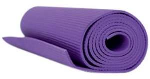 Tapete Para Yoga E Pilates Em Pvc Acte Sports Yoga Mat - Roxo